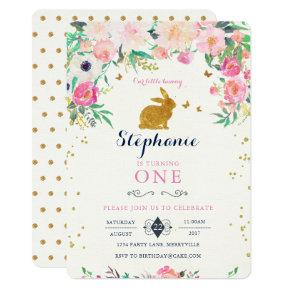 Whimsy super cute bunny rabbit birthday invite candied clouds bunny birthday invitations filmwisefo