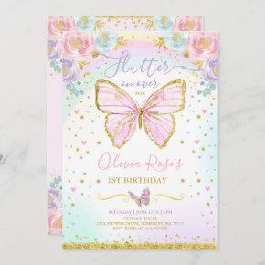 Butterfly Birthday Invitation Butterfly Party