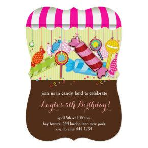 Candyland Sweet Shop Birthday