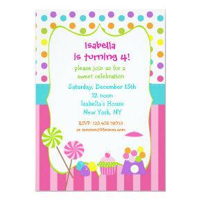 Candyland sweet shoppe birthday