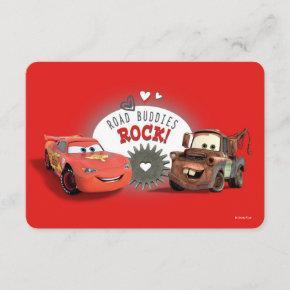 Cars Valentine Invitation