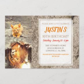 Cats Are Lions. Invitation
