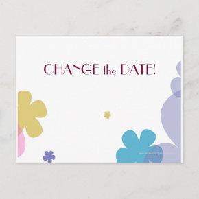 CHANGE the Date 90th Birthday Party Announcement