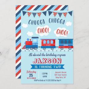 Choo Choo Train Birthday