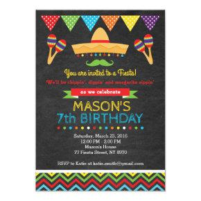 Cinco De Mayo Birthday Invitation