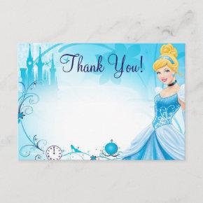 Cinderella 1 Thank You Invitations