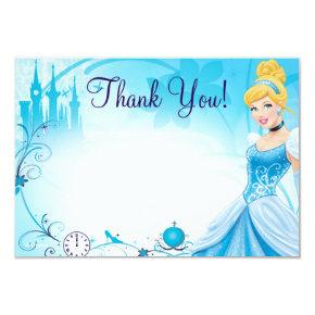 Cinderella 1 Thank You Cards