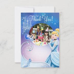Cinderella 3 Birthday Thank You