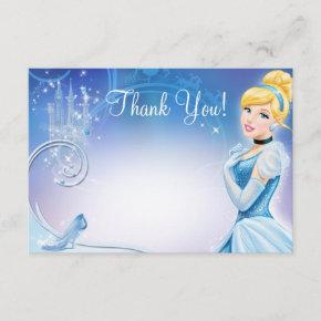 Cinderella 3 Thank You Invitations