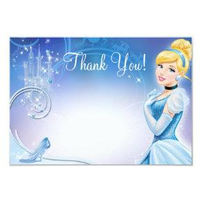 Cinderella 3 Thank You Cards