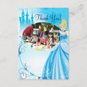Cinderella Birthday Thank You Invitations