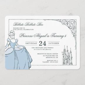 Cinderella Castle | Fairy Tale Birthday Invitation