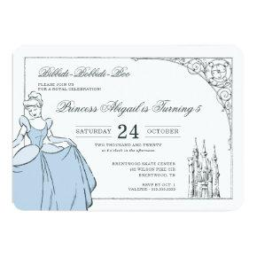 Cinderella Castle | Fairy Tale Birthday Invitation