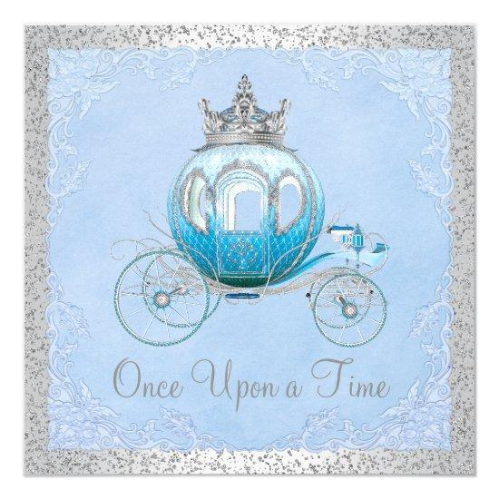 Cinderella Once Upon A Time Princess Birthday Card Candied Clouds