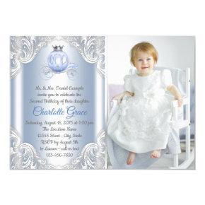 Cinderella Princess Birthday Party Invitation
