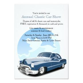Classic Car Show Invitation