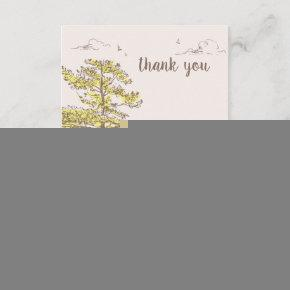 Classic Pooh | Birthday Thank You Invitation