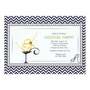 Cocktail Formal Invitations