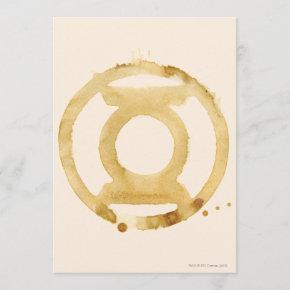 Coffee Lantern Symbol Invitation