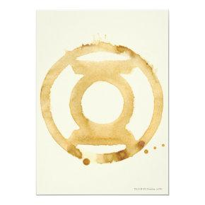 Coffee Lantern Symbol Invitation