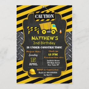 Construction Dump Truck Birthday