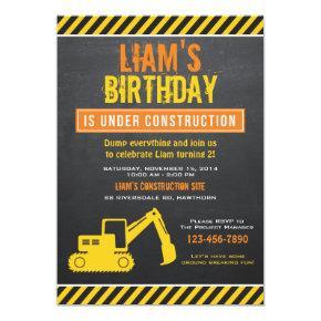 Construction Invitations / Construction Invite