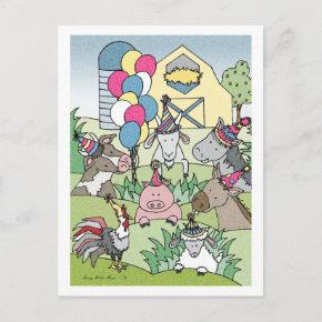 Country Life-Birthday Party Invitations