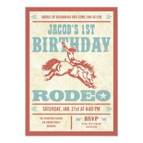 Cowboy Birthday Rodeo Party