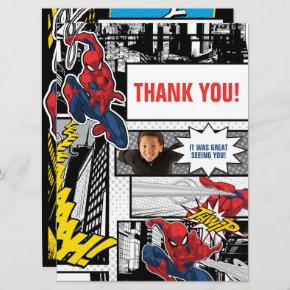 Custom Photo Frame Spider-Man Thank You