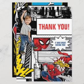 Custom Photo Spider-Man Thank You