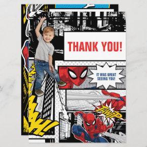 Custom Photo Spider-Man Thank You