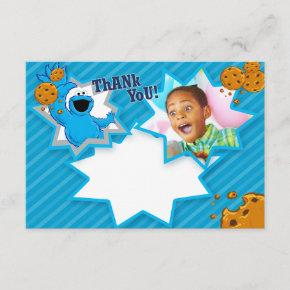 Customizable Cookie Monster Thank You