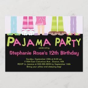 Cute Pajama Party Birthday Party