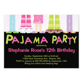 Cute Pajama Party Birthday Party