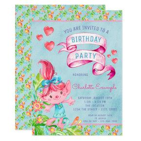 Cute Troll Birthday Party