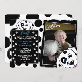Dalmatian Photo Birthday