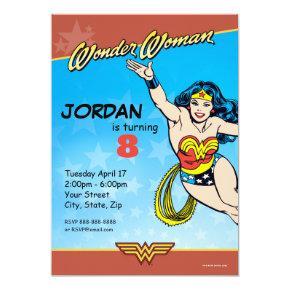 DC Comics | Wonder Woman Birthday Invitation