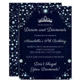 Denim and Diamonds Birthday
