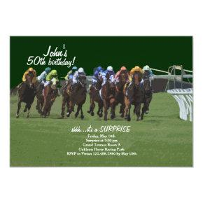 Derby Inspiration Horse Racing Invitations