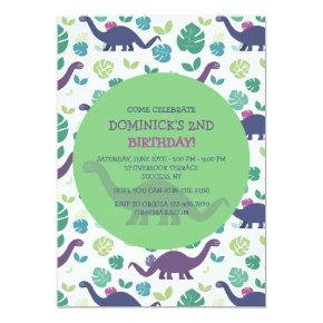 Dinosaur Birthday Invitations Page 12 Candied Clouds