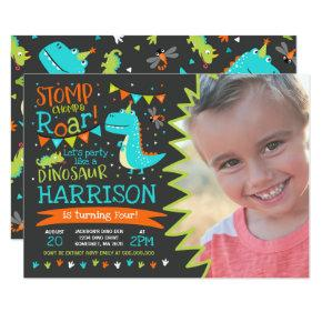 Dinosaur Birthday Invitations Dinosaur Roar Party