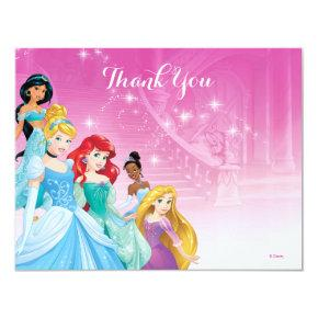 Disney Princess Thank You | Birthday Card