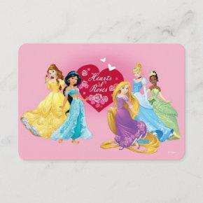Disney Princess Valentine Invitation