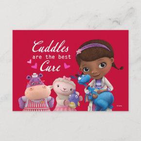 Doc McStuffins Valentine Invitation