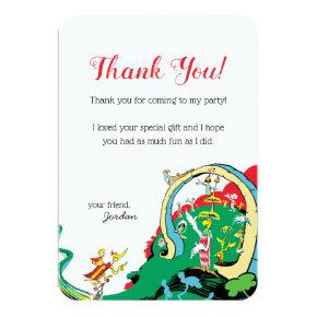 Dr. Seuss | Happy Birthday to You - Thank You Card