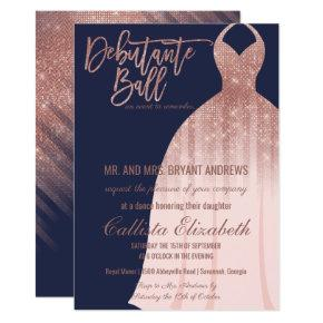 Debutante Birthday Invitations Candied Clouds