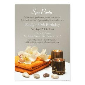 Elegant Relaxing Spa Birthday Party