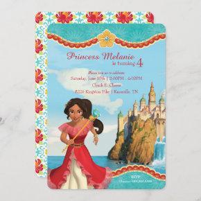 Elena of Avalor | Birthday Invitation
