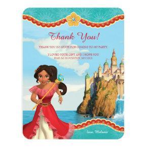 Elena of Avalor | Birthday Thank You Card