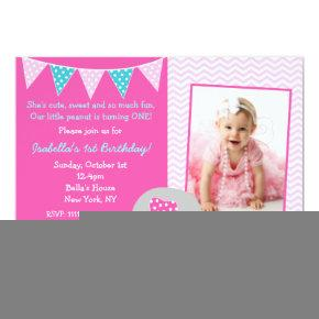 Elephant Birthday Party Invitations